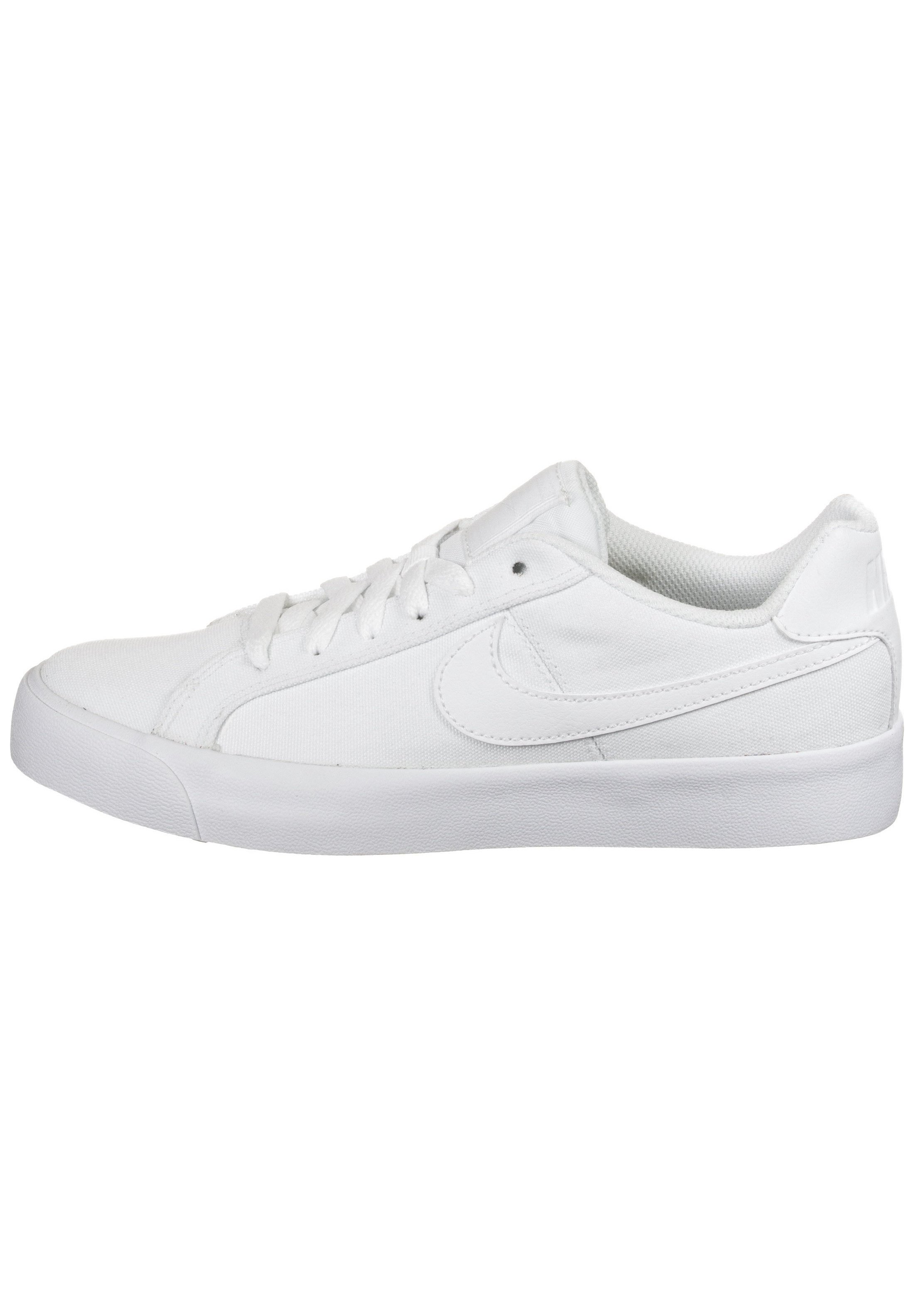 COURT ROYALE AC CANVAS SNEAKER DAMEN Sneakers laag white white