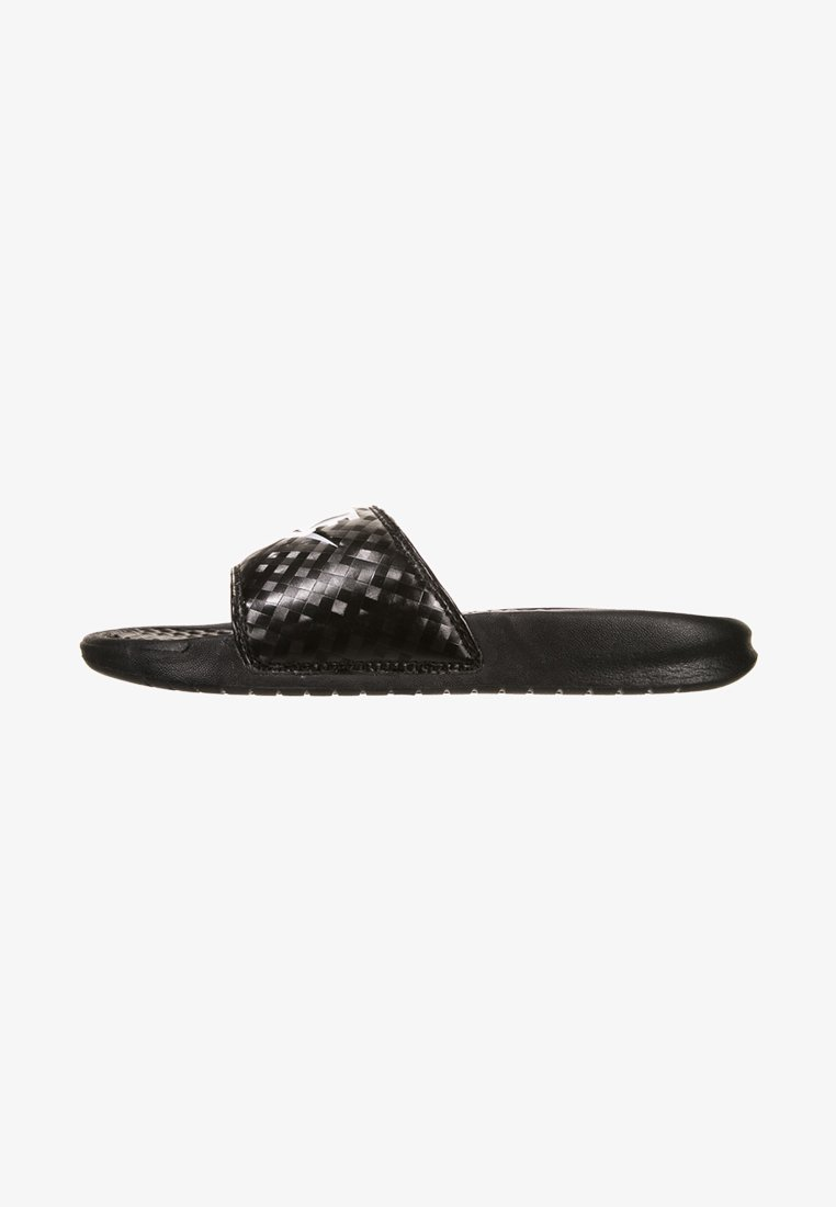 Nike Sportswear - BENASSI JDI - Sandalias planas - black/white