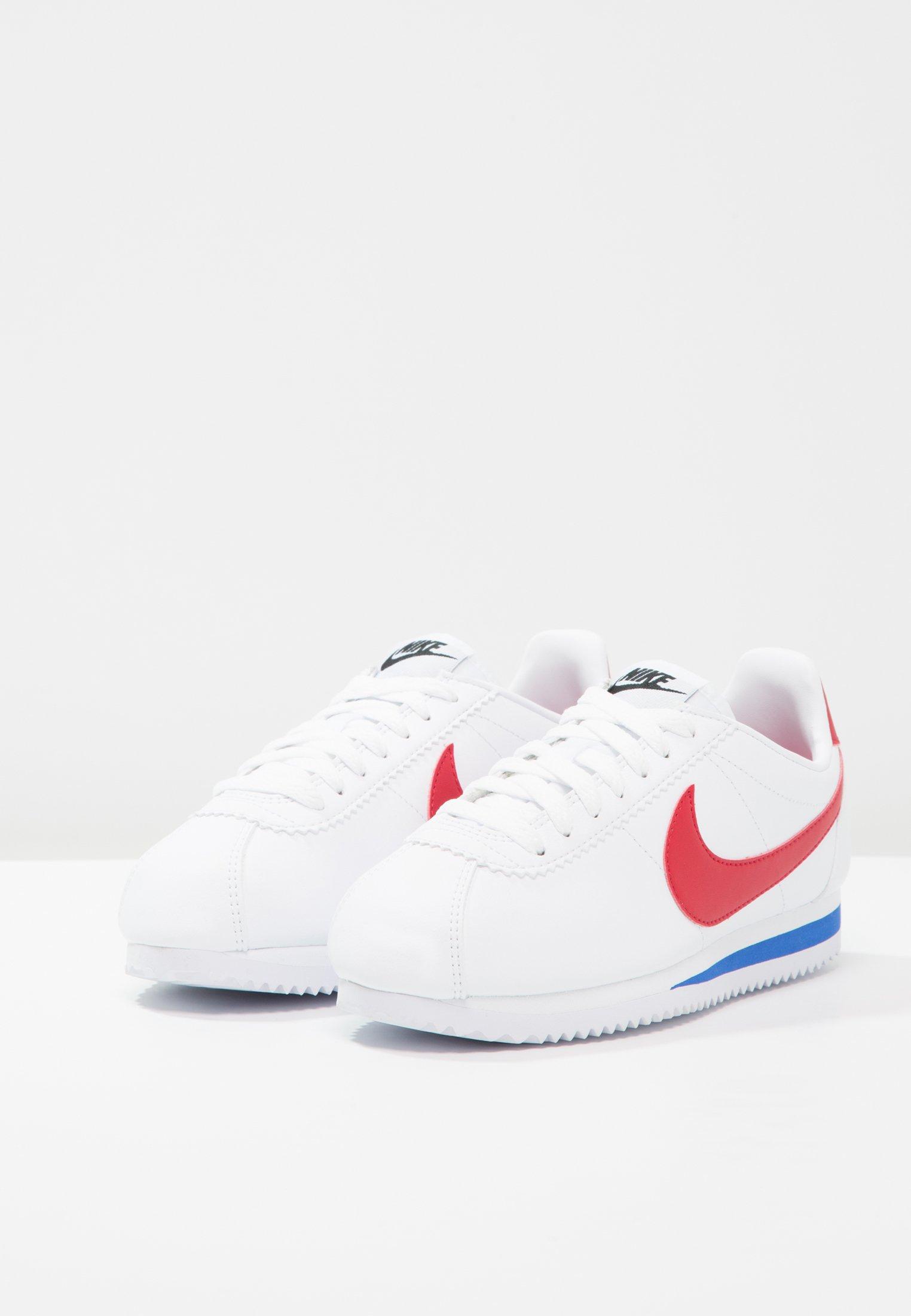 Sportswear Cortez Red Classic Royal Basses varsity LeatherBaskets White varsity Nike lFKcT351Ju