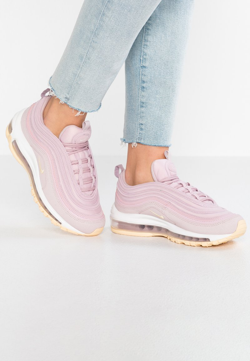 Nike Sportswear - AIR MAX 97 PRM - Sneaker low - plum chalk/pale vanilla/particle rose/palesummit white