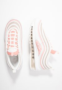 Nike Sportswear - AIR MAX 97 - Sneakers laag - summit white/bleached coral/desert sand/white - 3