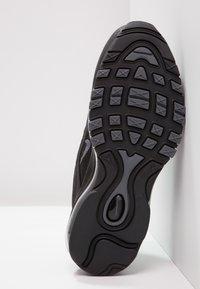 Nike Sportswear - AIR MAX 97 - Sneakers laag - black/dark grey - 4