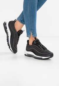 Nike Sportswear - AIR MAX 97 - Sneakers laag - black/dark grey - 0