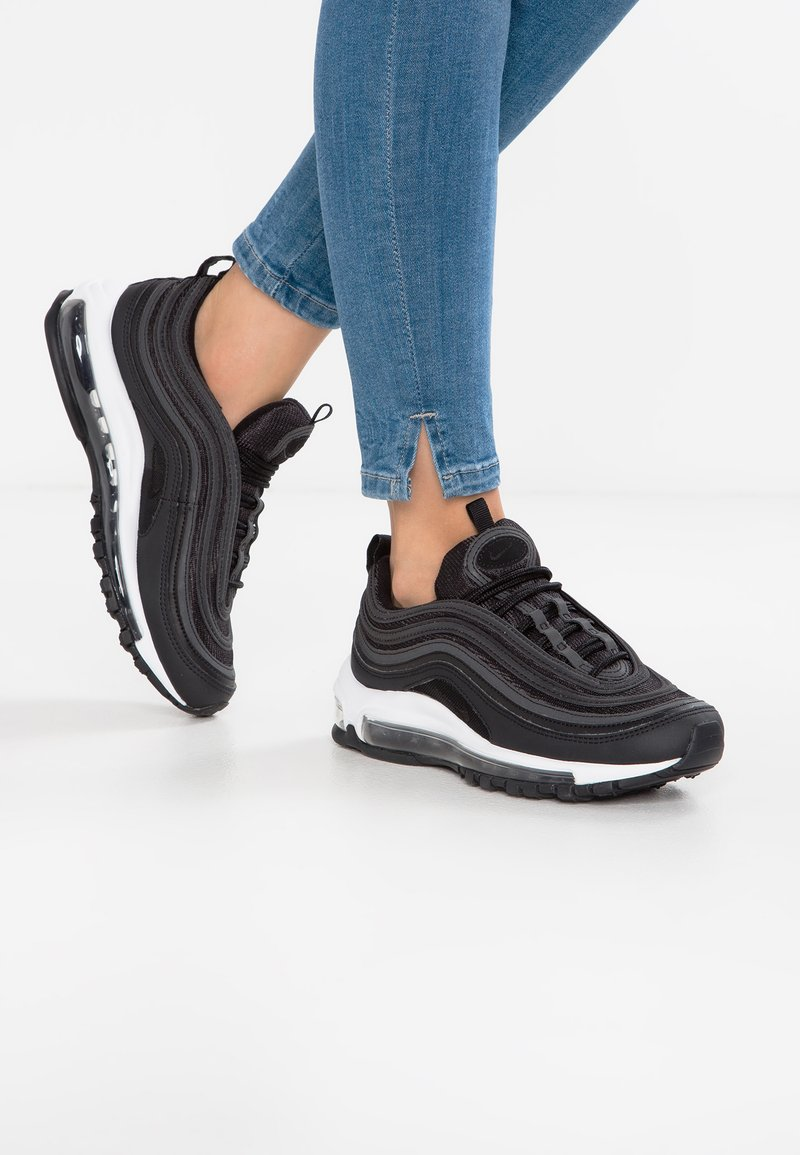 Nike Sportswear - AIR MAX 97 - Sneakersy niskie - black/dark grey