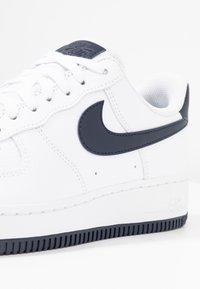 Nike Sportswear - AIR FORCE 1'07 - Sneaker low - white/obsidian/white/ocean cube - 2