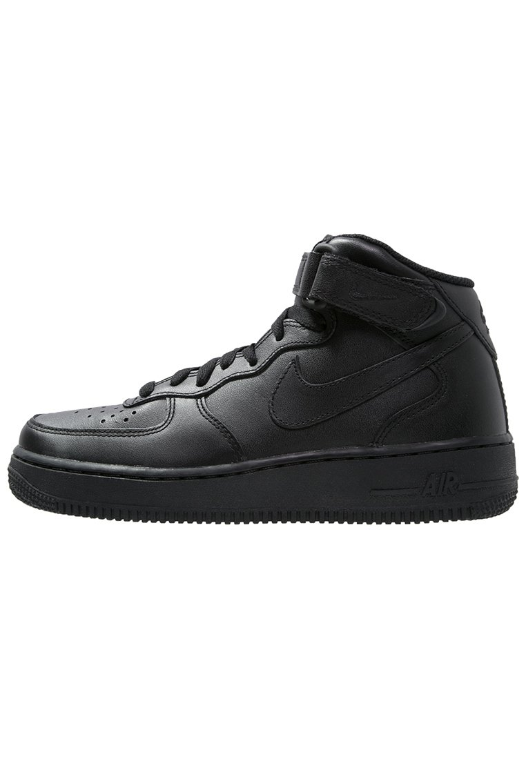 Nike sportswear air force 1 sneakers alte black zalando
