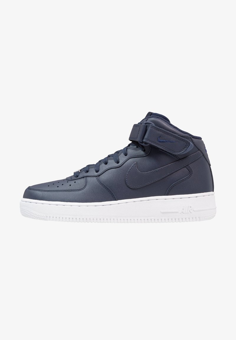Nike Sportswear - AIR FORCE 1 MID '07 - Sneakers hoog - obsidian/white