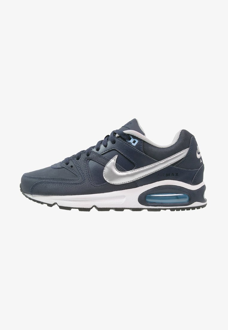 Nike Sportswear - AIR MAX COMMAND - Trainers - obsidian/metallic silver/bluecap/white/black