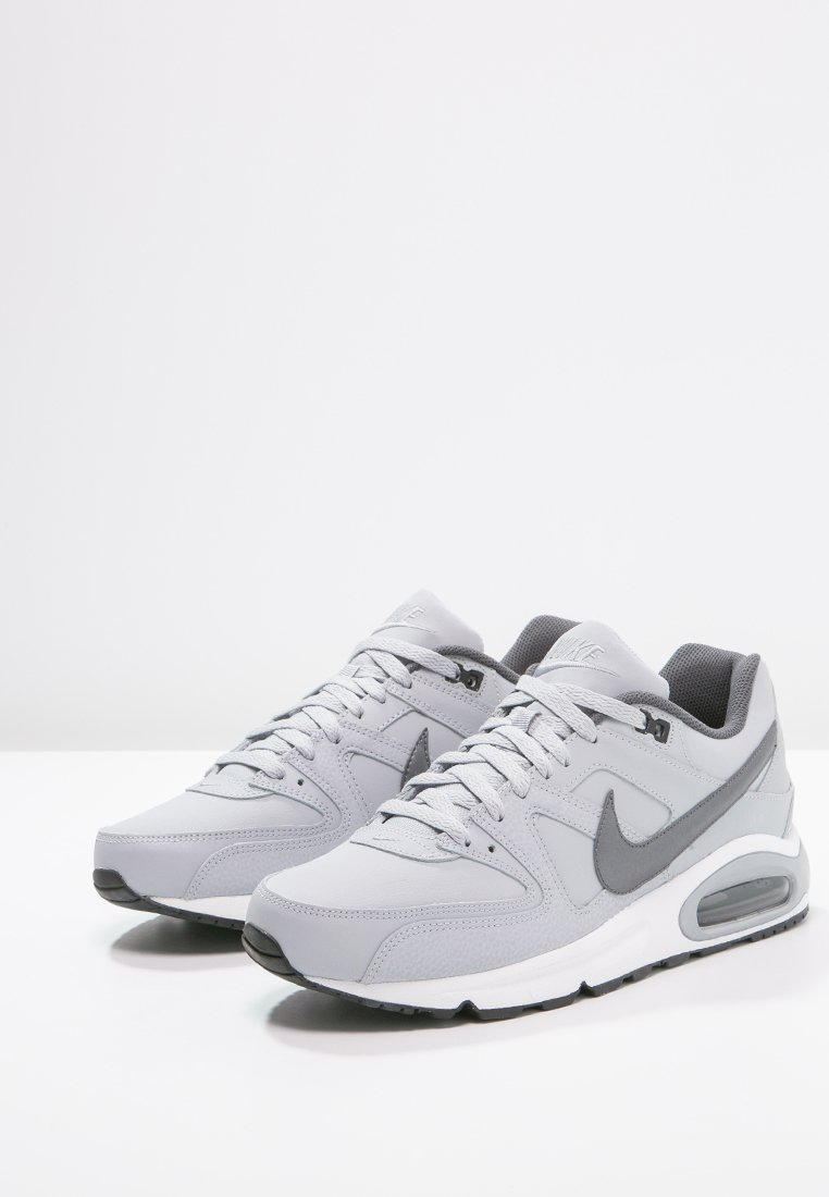 Nike wolf white MAX metallic Sportswear AIR COMMANDBaskets grey basses grey dark black HED29I
