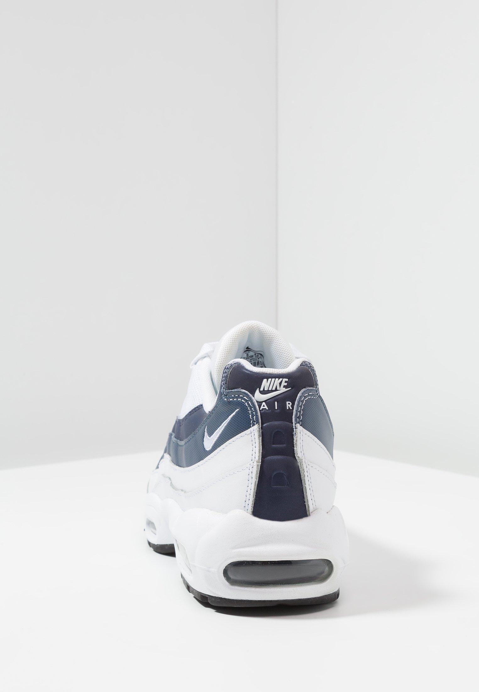 AIR MAX 95 ESSENTIAL Sneakers laag whitemidnight navymonsoon bluepure platinum