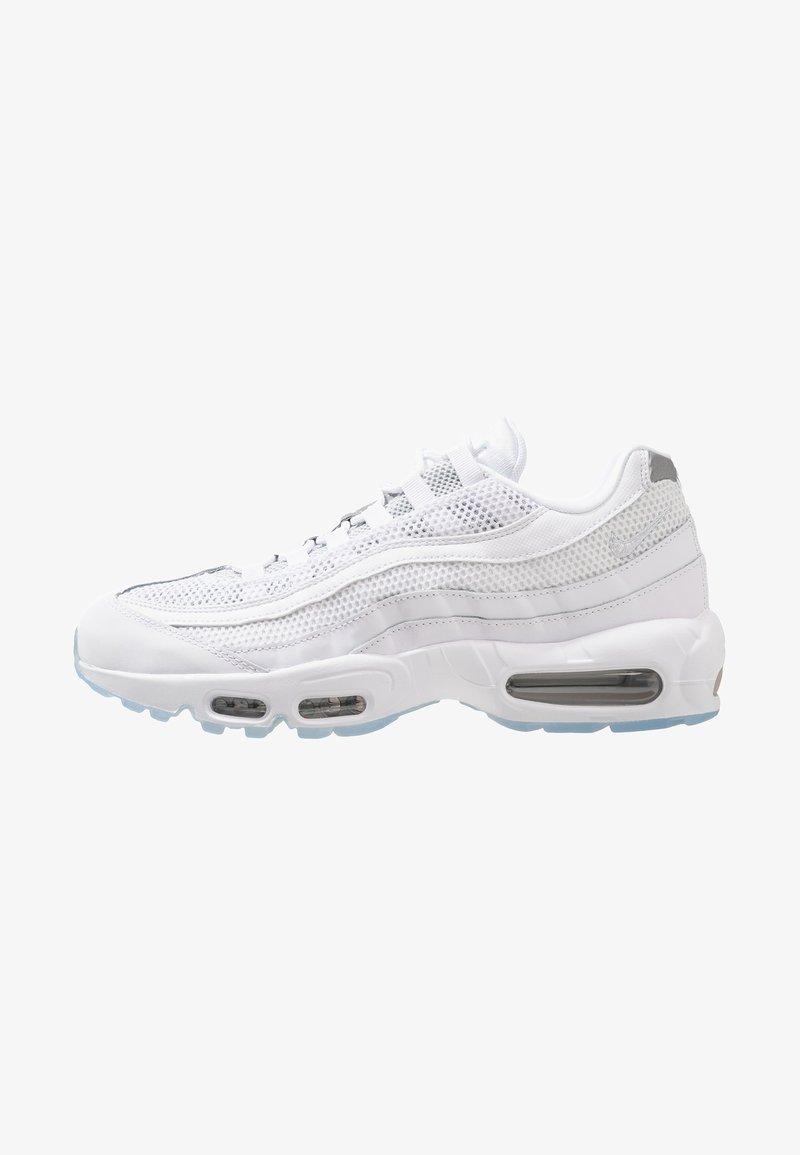 Nike Sportswear - AIR MAX 95 ESSENTIAL - Trainers - white/pure platinum/reflect silver