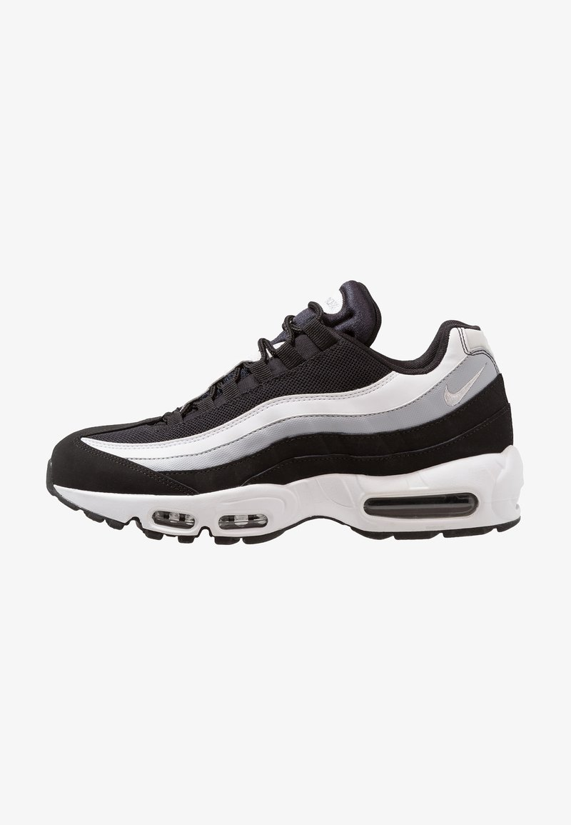 Nike Sportswear - AIR MAX 95 ESSENTIAL - Trainers - black/white/wolf grey