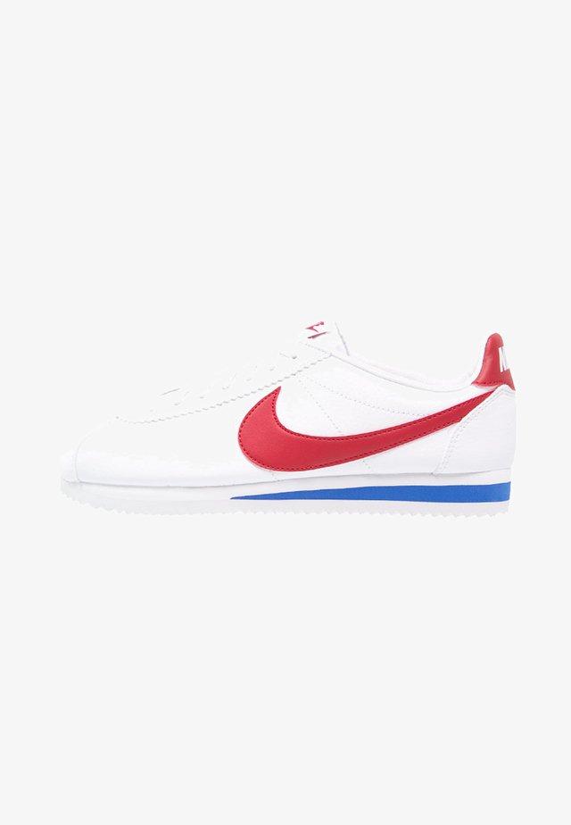 CLASSIC CORTEZ - Sneakersy niskie - white/varsity red/varsity royal