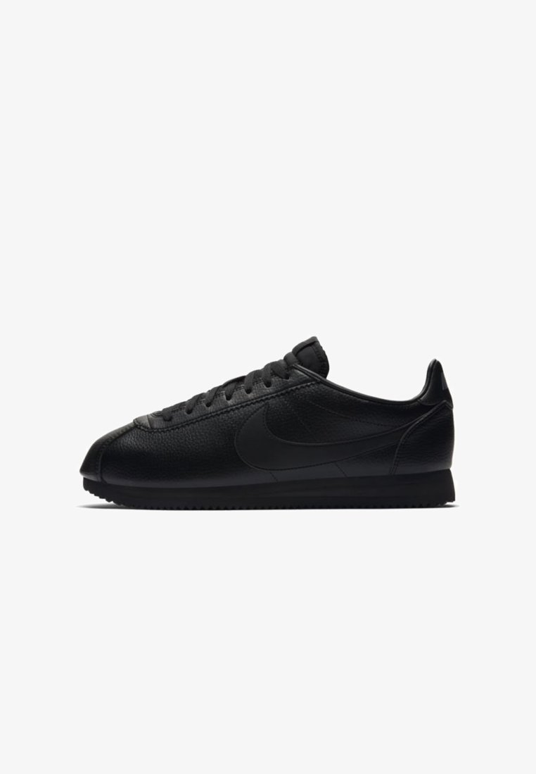 Nike Sportswear - CLASSIC CORTEZ - Trainers - black/white/dark grey