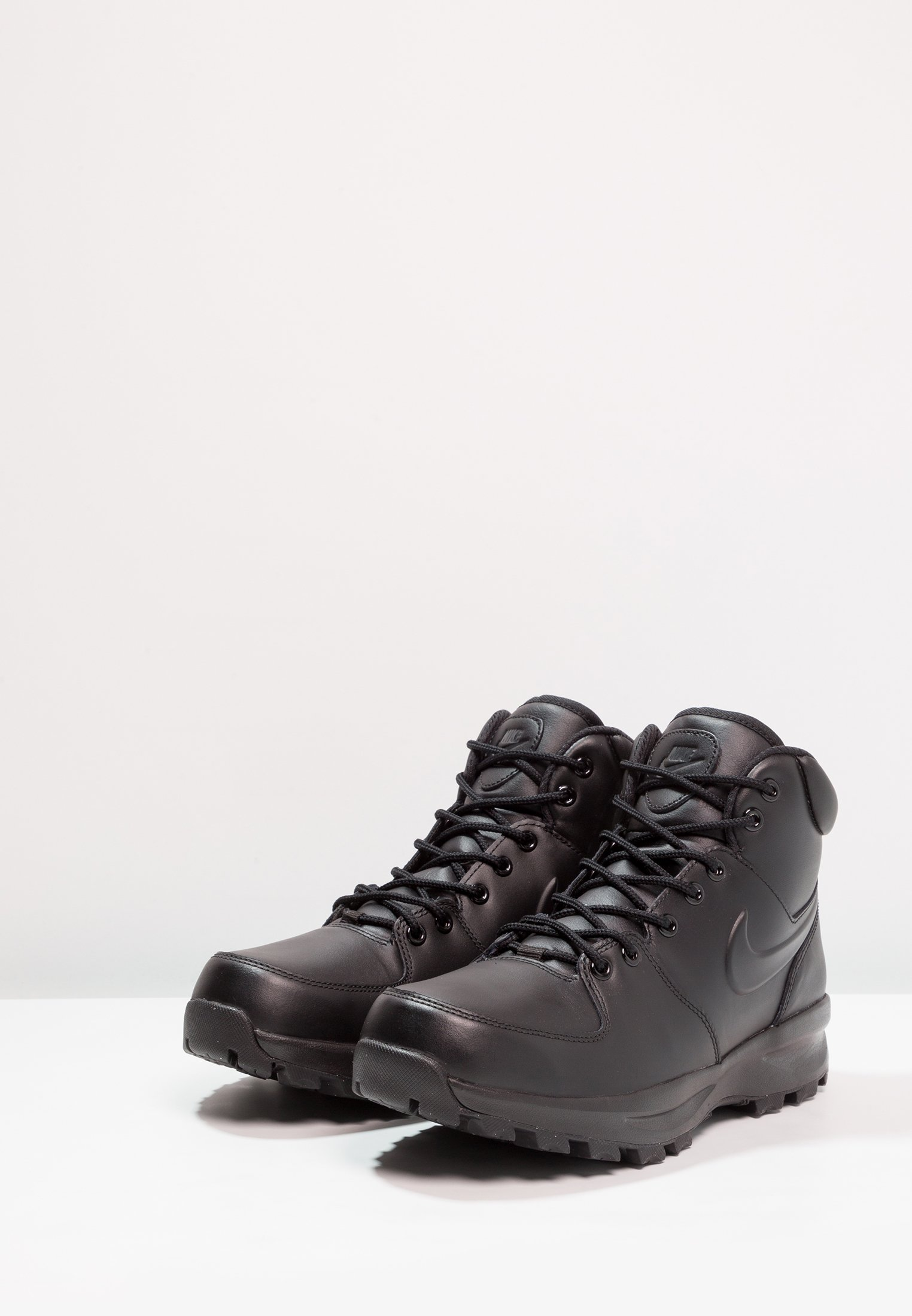 Nike LeatherBaskets Sportswear Manoa Schwarz Montantes LzSUGMqVp