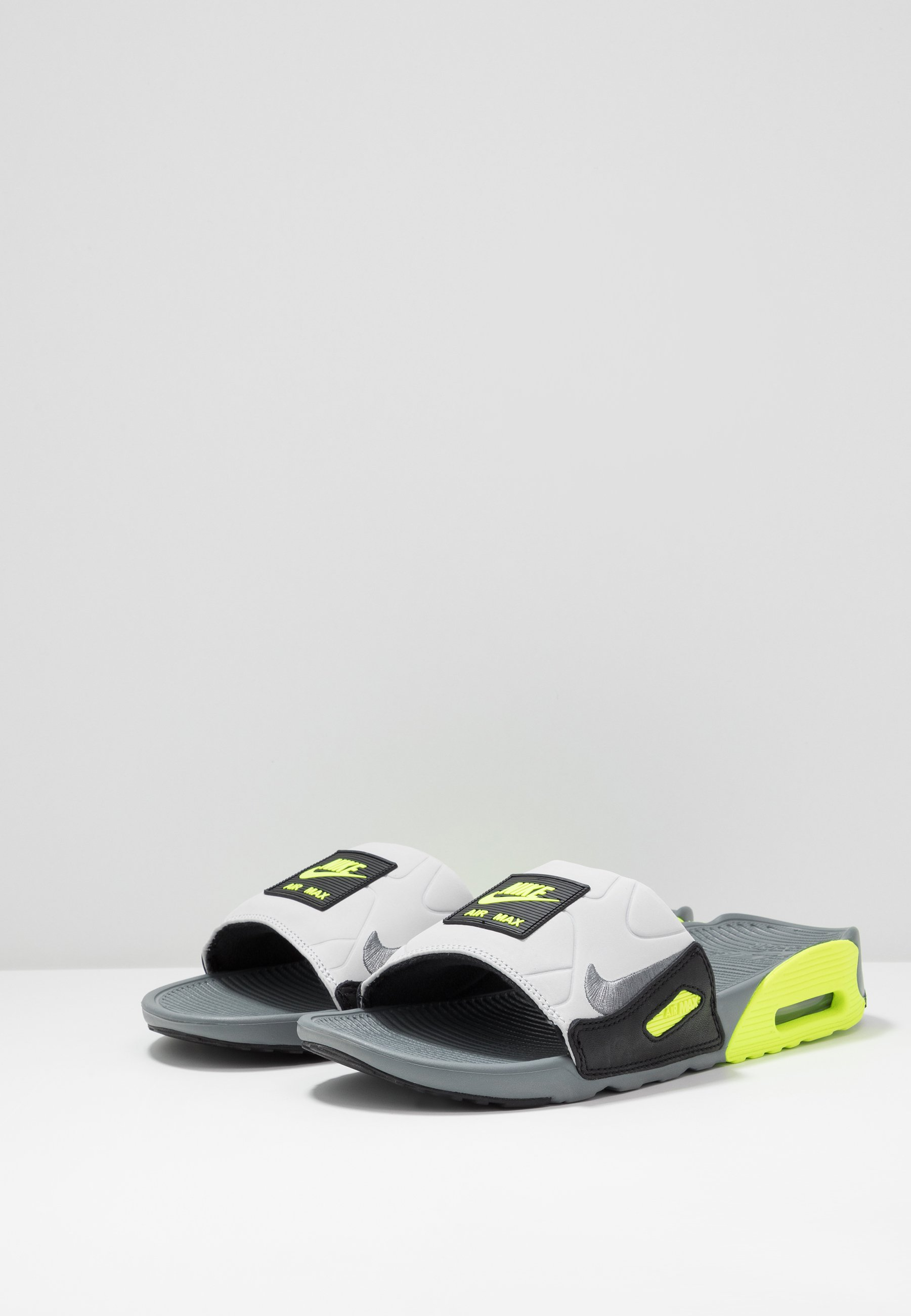 Nike Sportswear Air Max 90 Slide - Mules Smoke Grey/volt/black/grey Fog