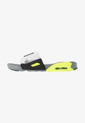 AIR MAX 90 SLIDE - Sandaler - smoke grey/volt/black/grey fog