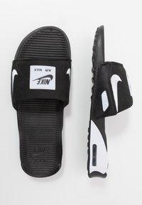 Nike Sportswear - AIR MAX 90 SLIDE - Sandaler - black/white - 1