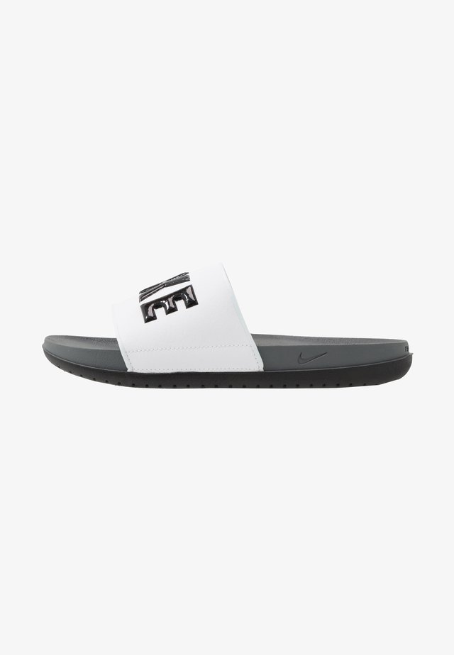 OFFCOURT SLIDE - Ciabattine - dark grey/black/white