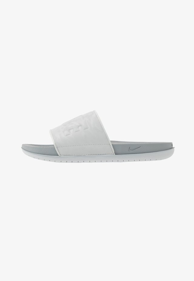 OFFCOURT SLIDE - Ciabattine - grey fog/particle grey