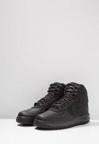 Nike Sportswear - LUNAR FORCE - Höga sneakers - black - 2