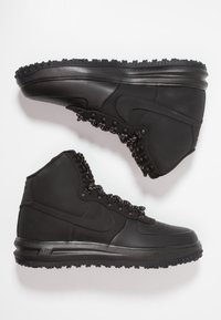 Nike Sportswear - LUNAR FORCE - Höga sneakers - black - 1
