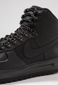 Nike Sportswear - LUNAR FORCE - Höga sneakers - black - 5