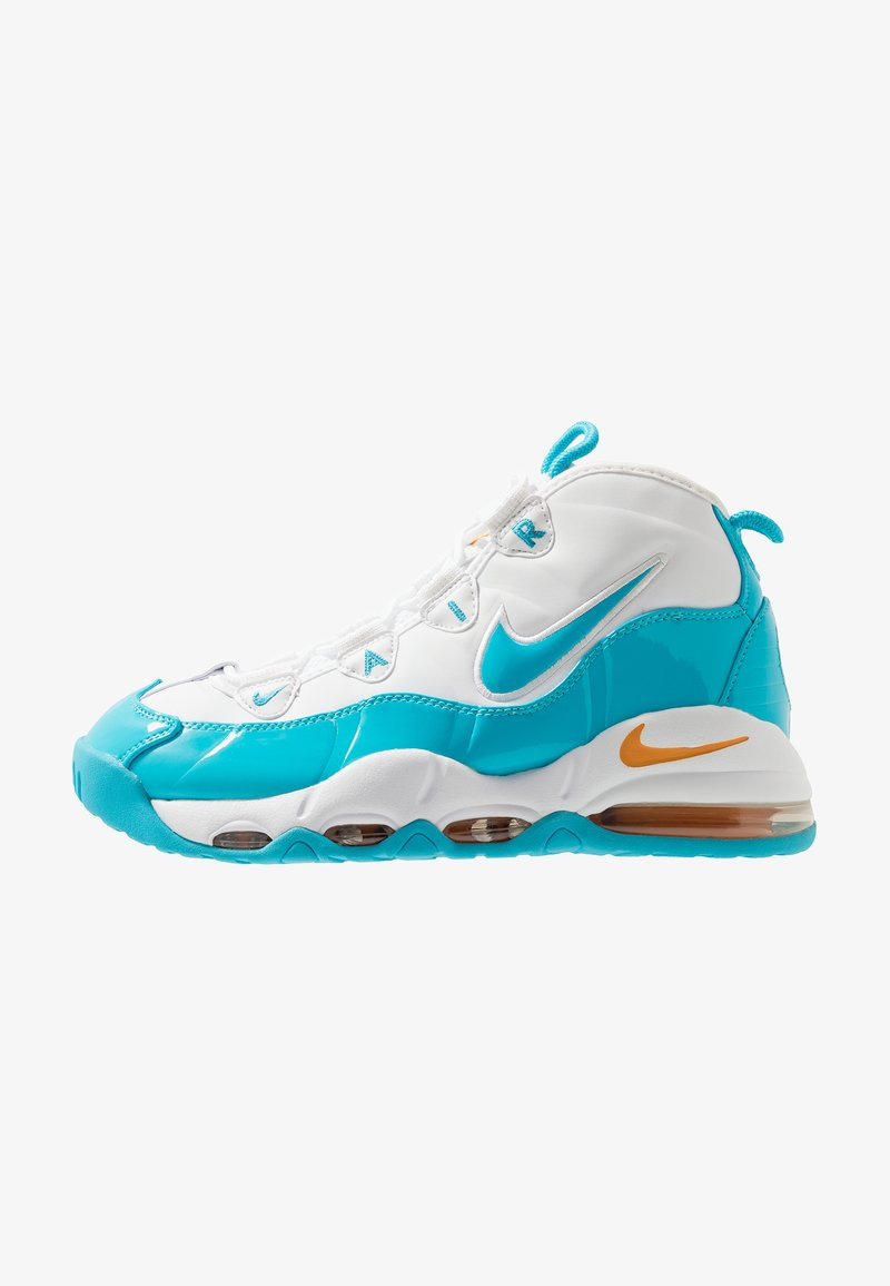Nike Sportswear - AIR MAX UPTEMPO '95 - High-top trainers - white/blue fury/canyon gold