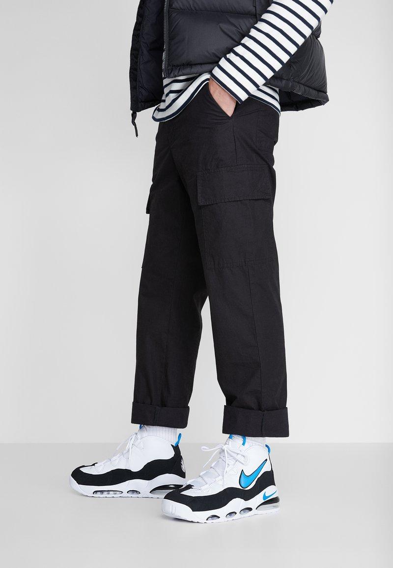 Nike Sportswear - AIR MAX UPTEMPO '95 - Sneakersy wysokie - white/photo blue/black