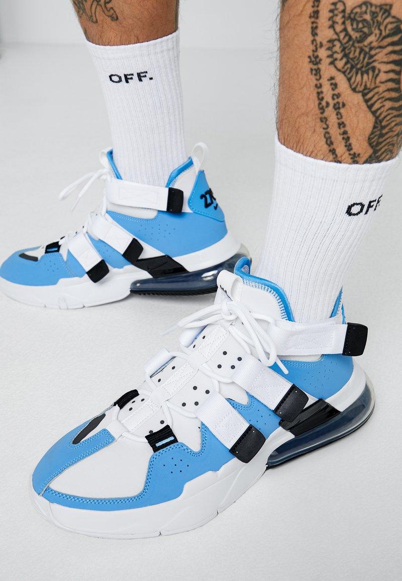 Nike Sportswear - AIR EDGE 270 - Sneakersy wysokie - universe blue/black/white