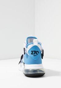 Nike Sportswear - AIR EDGE 270 - Sneakersy wysokie - universe blue/black/white - 4