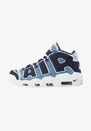 AIR MORE UPTEMPO '96 QS - Sneakers hoog - white/obsidian/total orange