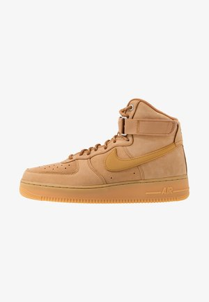 AIR FORCE 1 - High-top trainers - flax/wheat