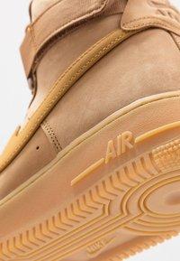 Nike Sportswear - AIR FORCE 1 - Baskets montantes - flax/wheat - 6