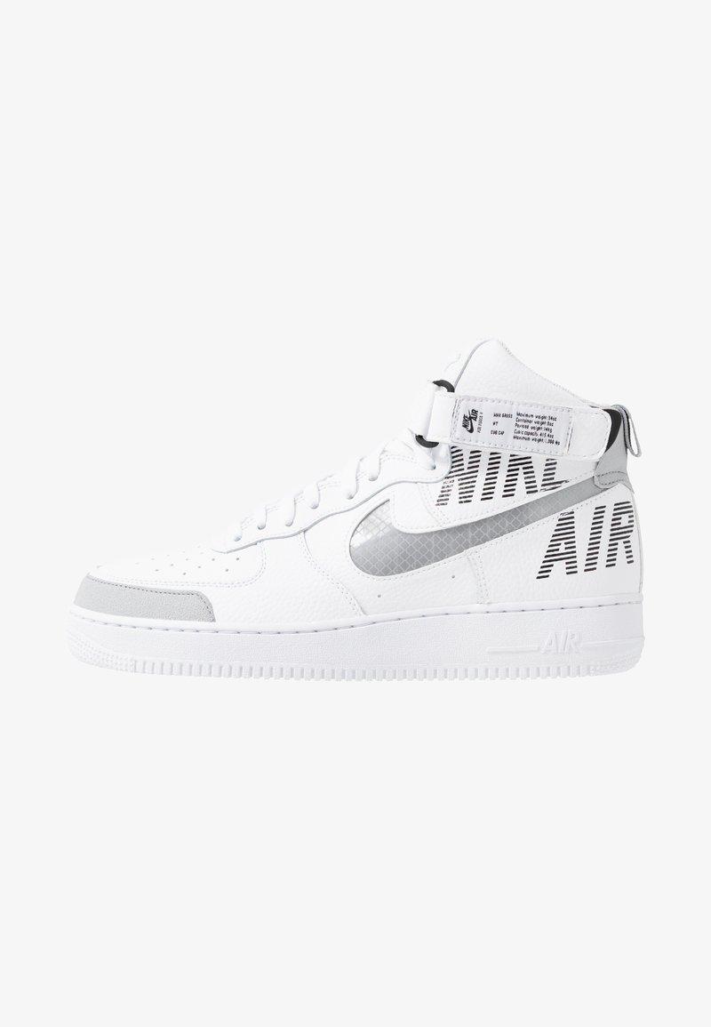 Nike Sportswear - AIR FORCE 1 - Sneakers hoog - white/wolf grey/dark grey/black