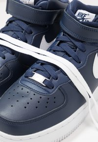 Nike Sportswear - AIR FORCE 1 MID '07 - Sneakers hoog - midnight navy/white - 5