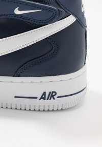 Nike Sportswear - AIR FORCE 1 MID '07 - Sneakers hoog - midnight navy/white - 6
