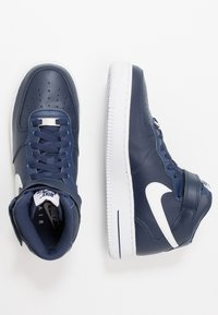 Nike Sportswear - AIR FORCE 1 MID '07 - Sneakers hoog - midnight navy/white - 1
