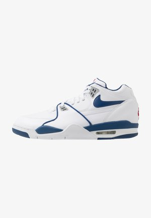 AIR FLIGHT 89 - Baskets montantes - white/dark royal blue/varsity red