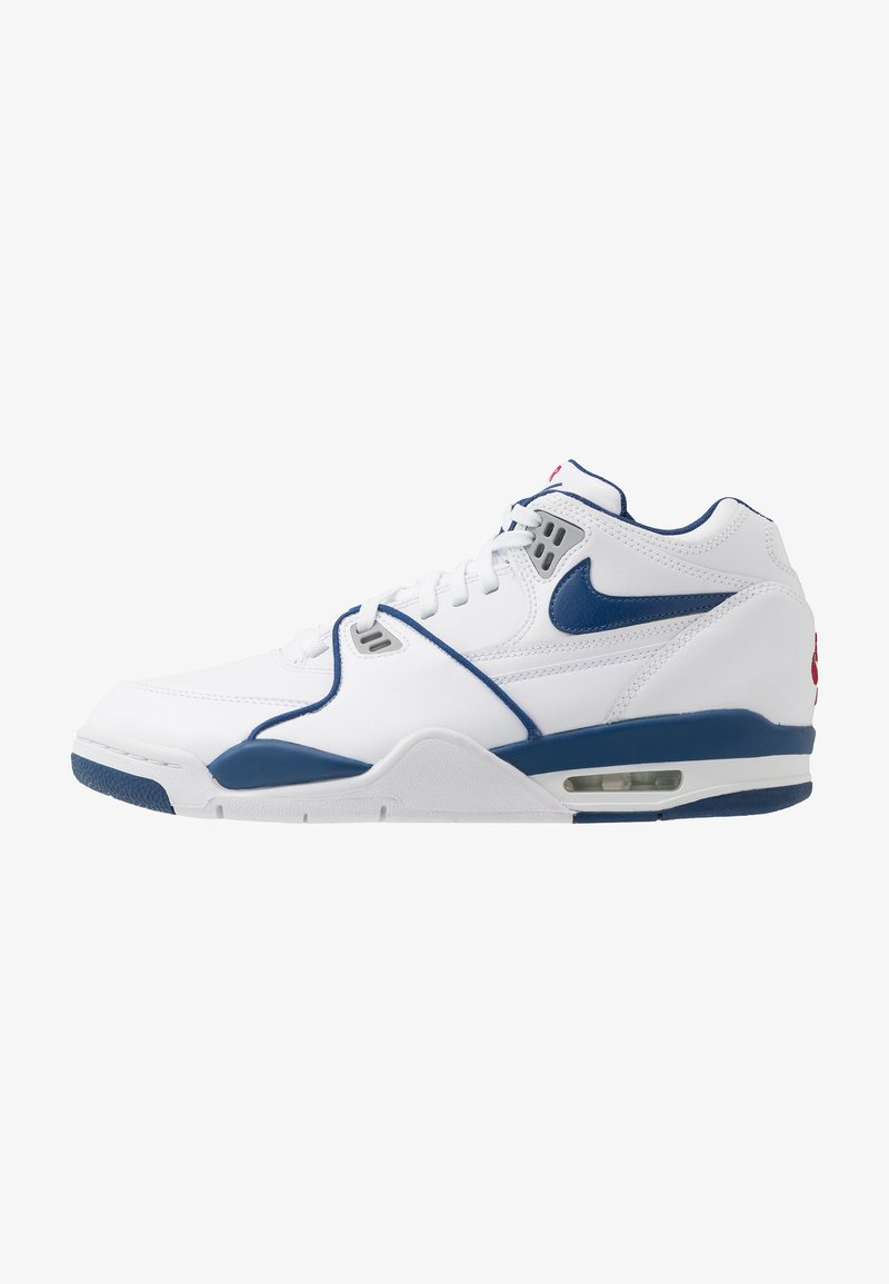 Nike Sportswear - AIR FLIGHT 89 - Høye joggesko - white/dark royal blue/varsity red