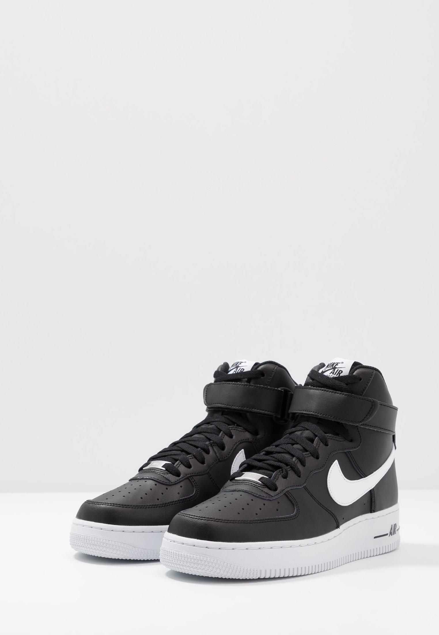 Nike Sportswear Air Force 1 '07 - Höga Sneakers Black/white