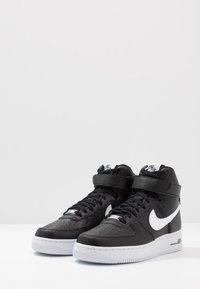 Nike Sportswear - AIR FORCE 1 '07  - Vysoké tenisky - black/white - 2