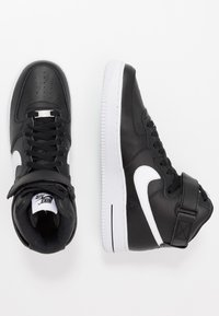Nike Sportswear - AIR FORCE 1 '07  - Vysoké tenisky - black/white - 1