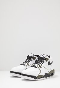 Nike Sportswear - AIR FLIGHT 89 - High-top trainers - white/black/medium olive - 2