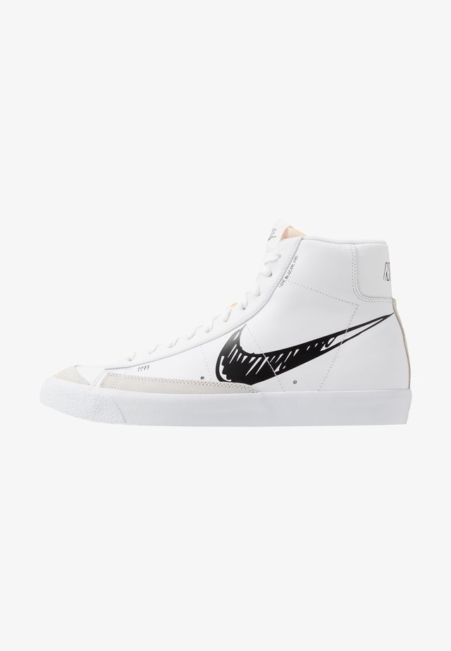 BLAZER MID VNTG '77 - Korkeavartiset tennarit - white/black
