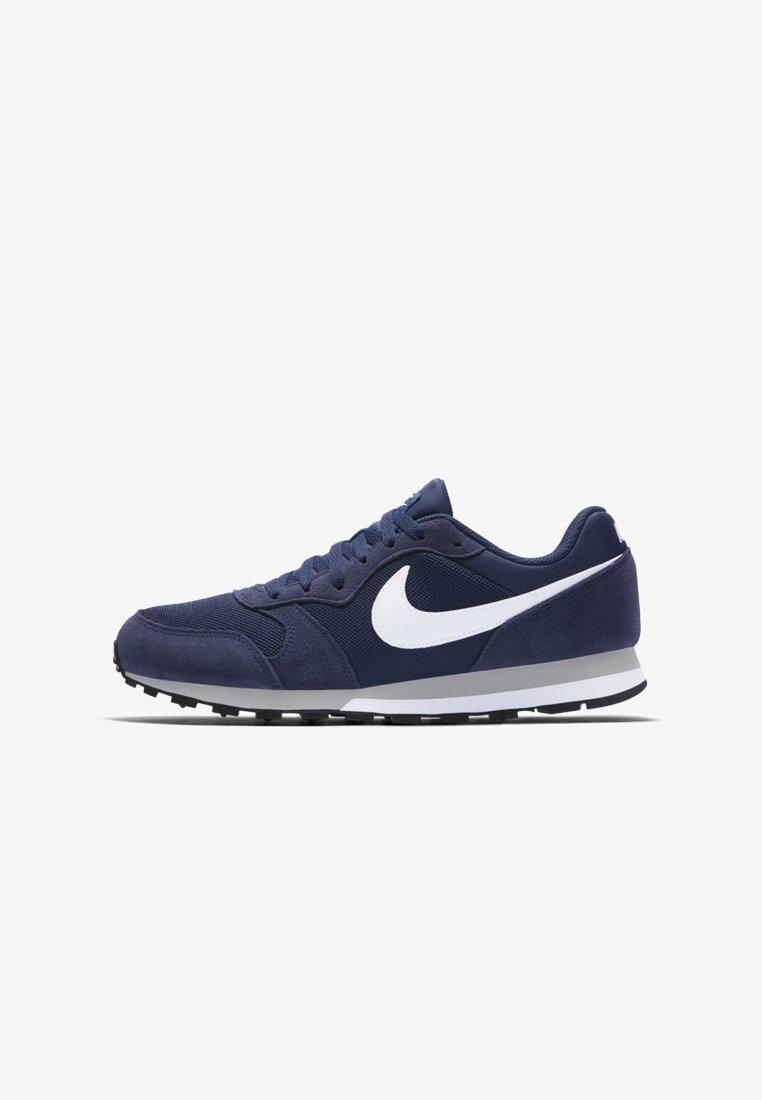 Nike Sportswear - RUNNER 2 - Trainers - midnight navy/wolf grey/white