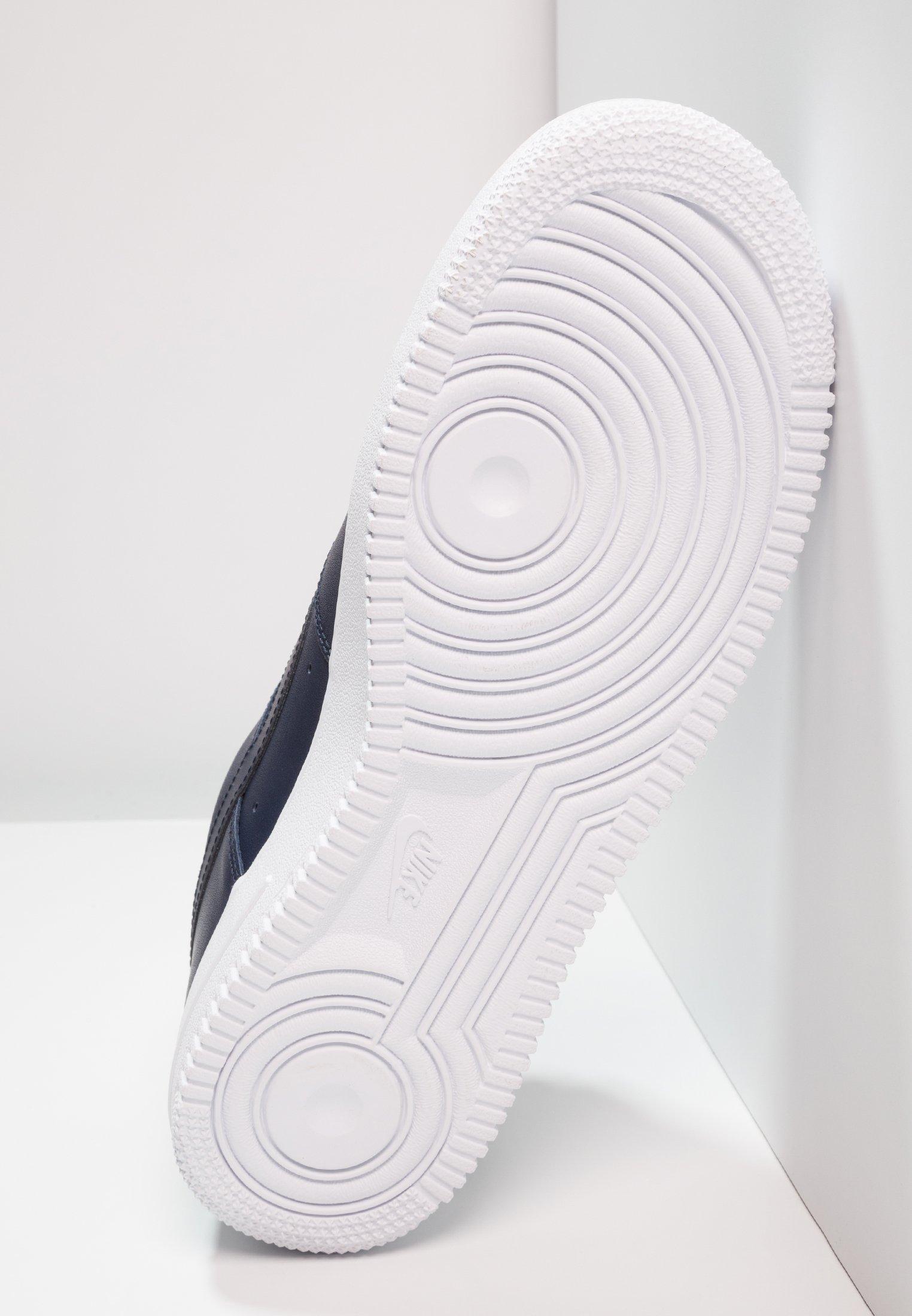 Nike Sportswear AIR FORCE - Sneakers - obsidian/white