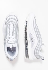 Nike Sportswear - AIR MAX 97 - Sneakersy niskie - white/reflect silver/wolf grey - 1