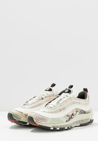 Nike Sportswear - AIR MAX 97 - Sneakersy niskie - sail/white/black/team orange - 2