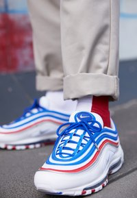 Nike Sportswear - AIR MAX 97 - Sneakers basse - game royal/metallic silver/university red - 8